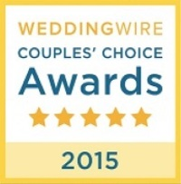 WeddingWire Couples' Choice Awards 2015 Badge